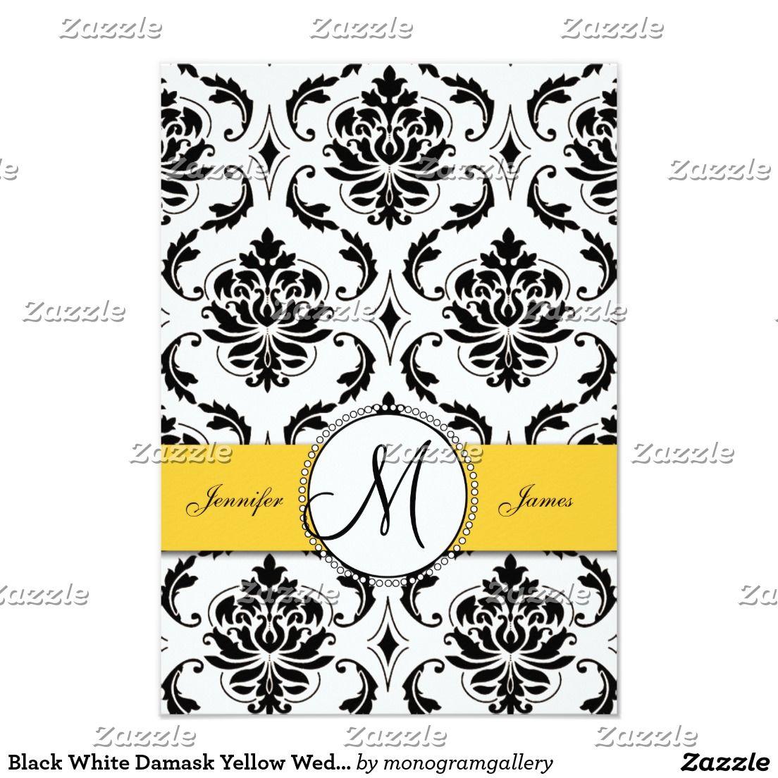 Invitation | Teresa\'s Shindig | Pinterest | White damask, Wedding ...