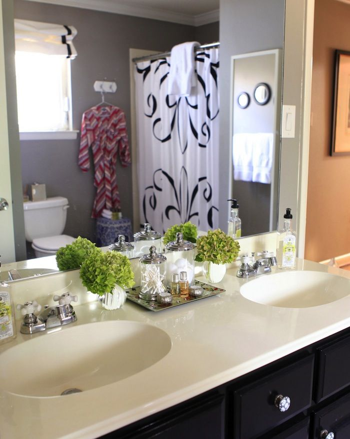 Knight Moves Creating A Well Appointed Guest Room Guest Bathroom Amazing Bathrooms Bathroom Decor Organizing newly painted bathroom vanity