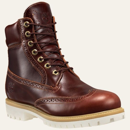 Men's Limited Release Timberland® 6-Inch Waterproof Brogue Boots |  Timberland US Store