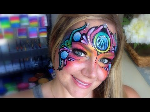 New Fantasy Mask - by Lisa Joy Young - Video Tutorial