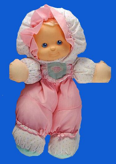 2 Fisher Price Baby Girl Doll Pink Flutter Blanket Lovey