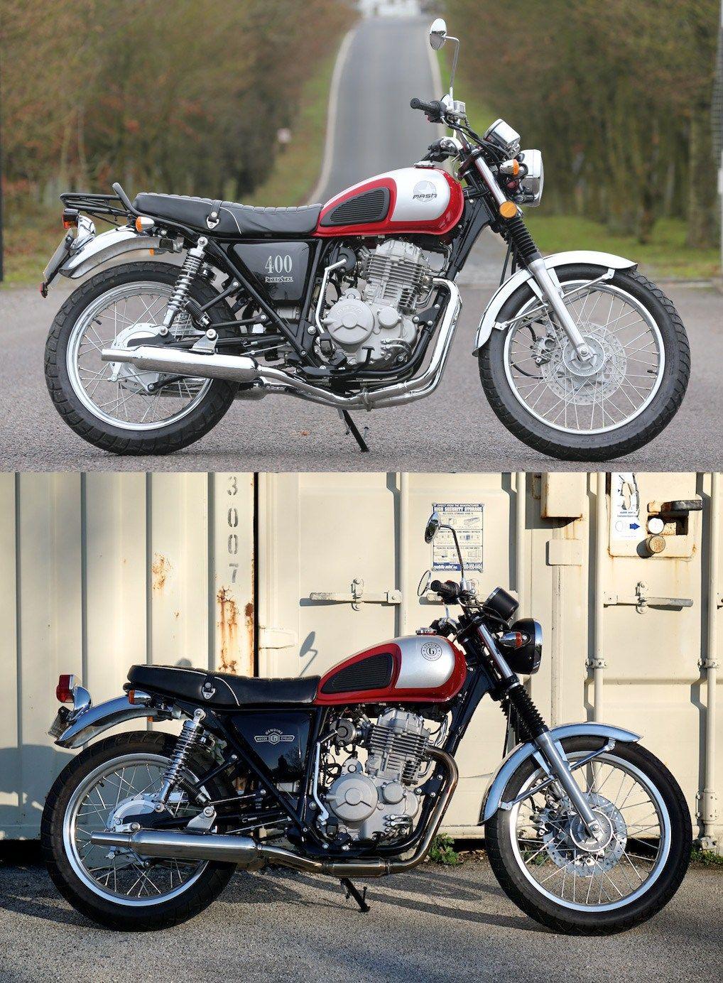 Genuine g400c motorcycle