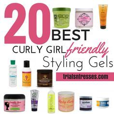 20 Best Curly Girl Friendly Styling Gels Curly Girl Method