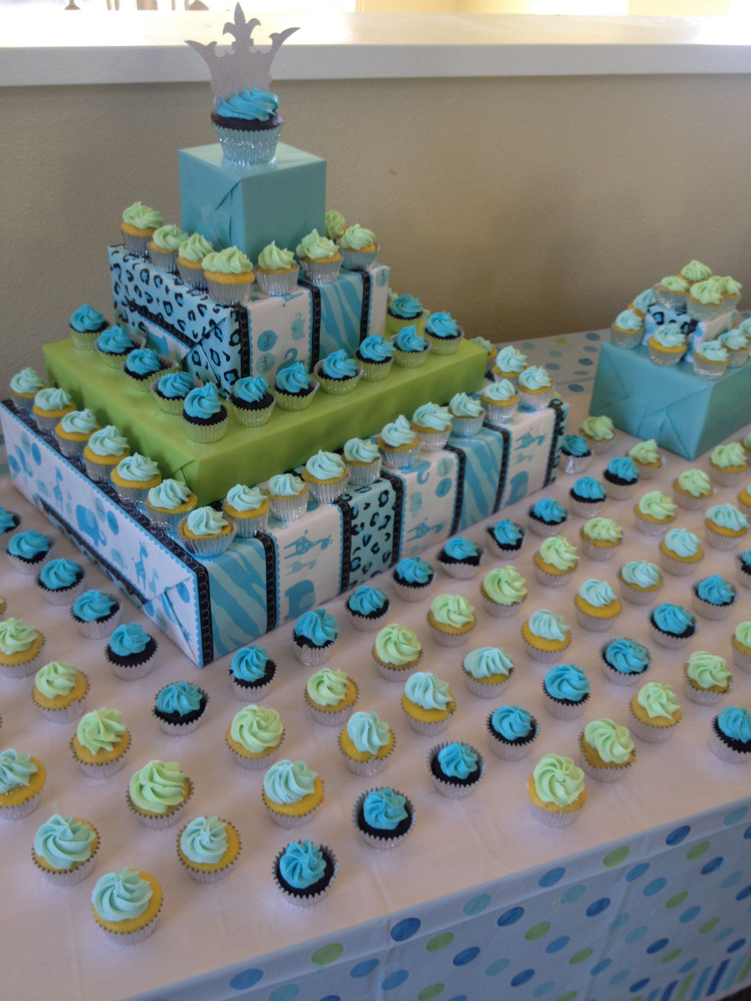 20 Cupcake Stand Baby Shower Centerpiece Pictures And Ideas On
