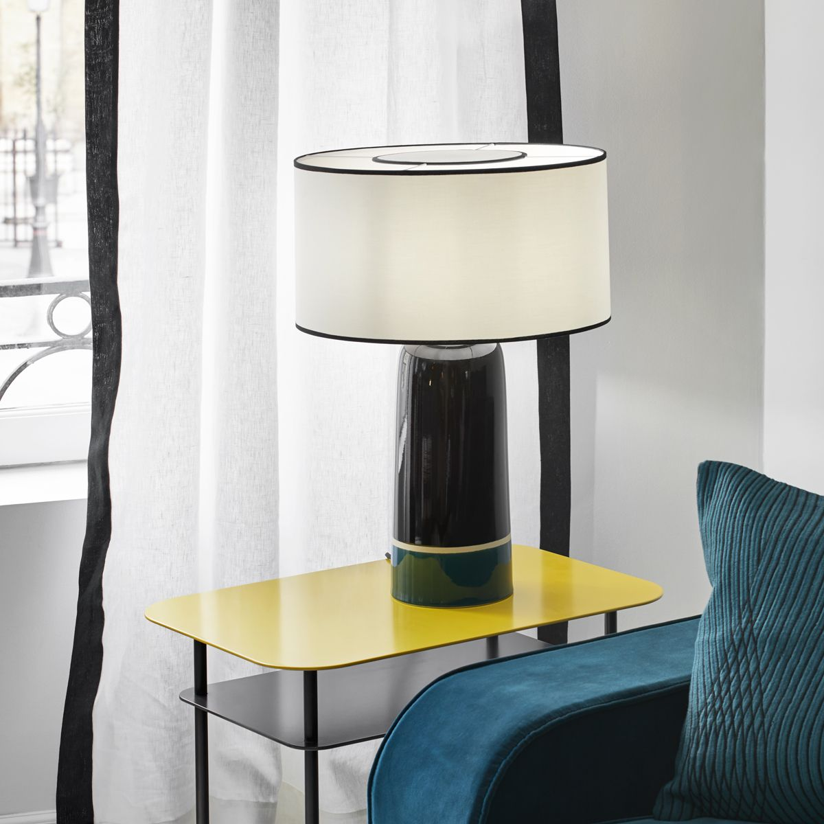 Lampe A Poser Sicilia Bleu Sarah Table Lamp Table Floor Lamp
