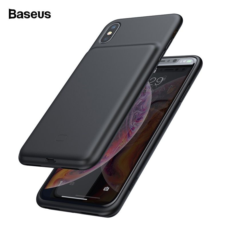 Baseus battery charger case for iphone xs max xr x