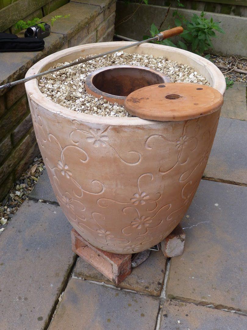 Mark Two Tandoor after my original Flower Pot Tandoor http