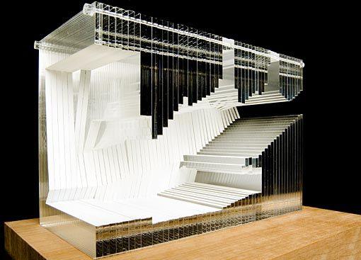 Study Model For The Aula Magna Universita Luigi Bocconi Architecture