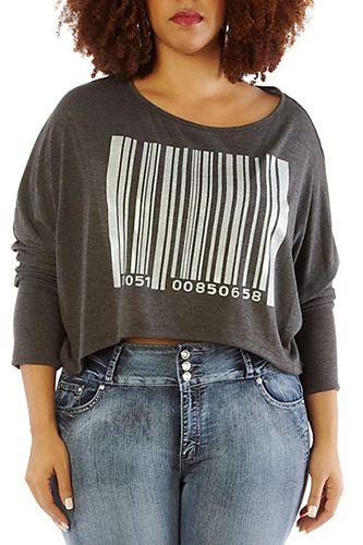 de3df766a943b Best Plus Size Crop Tops - Cute Shirts