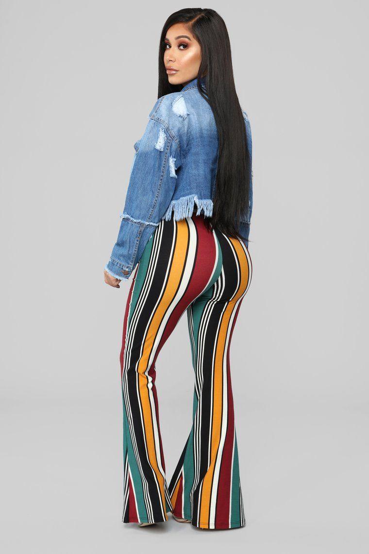 Trisha Striped Pants Fashion, Pants for