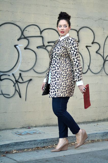 Leopard Graffiti by GirlWithCurves.com