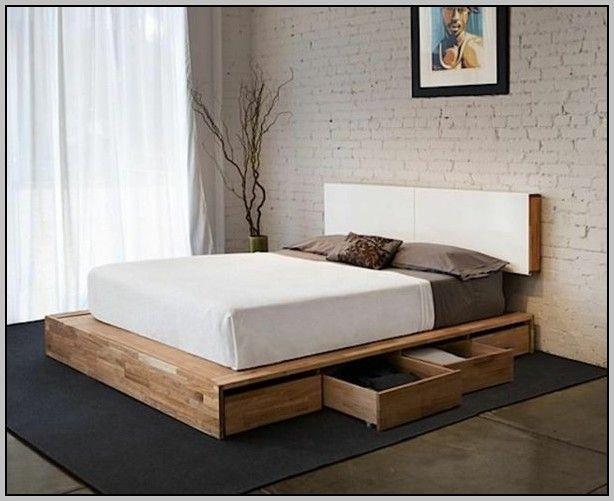 Bett Selbst Bauen Paletten Betten House Und Dekor Galerie