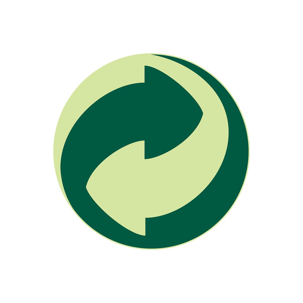Green Dot Der Grune Punkt Designer Lars Oehlschlaeger Firm Designsign Animal Logo History Logo Natural Logo
