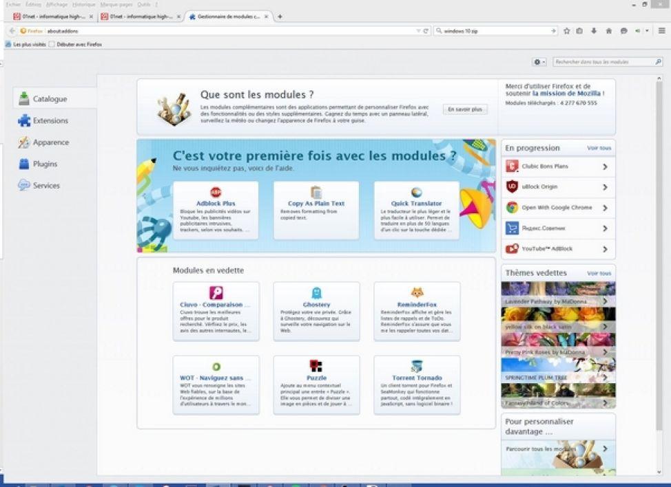 Les logiciels gratuits à installer sur Windows 10 Windows 10