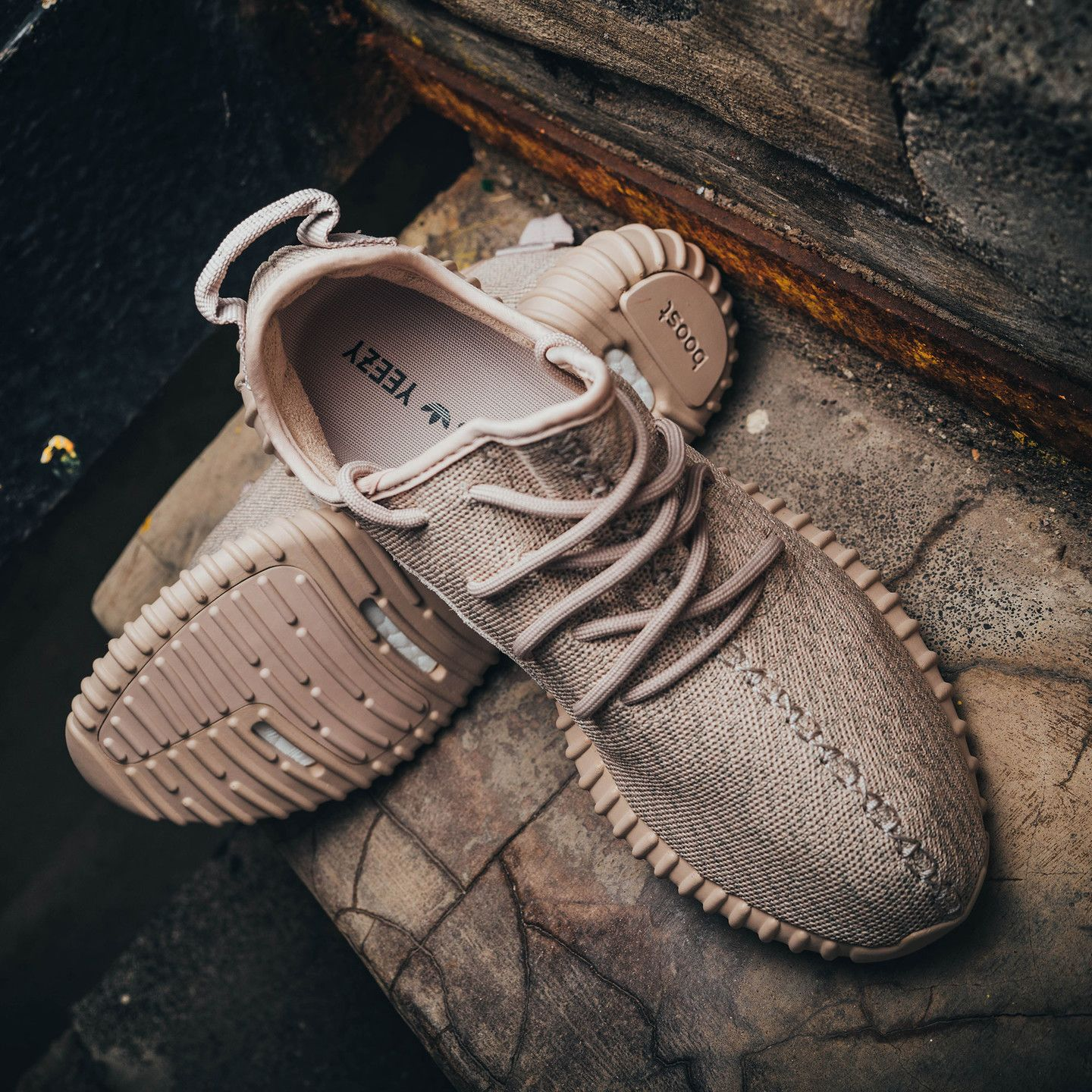 54186c43e33 Adidas Yeezy Boost 350 Light Stone   Oxford Tan AQ2661