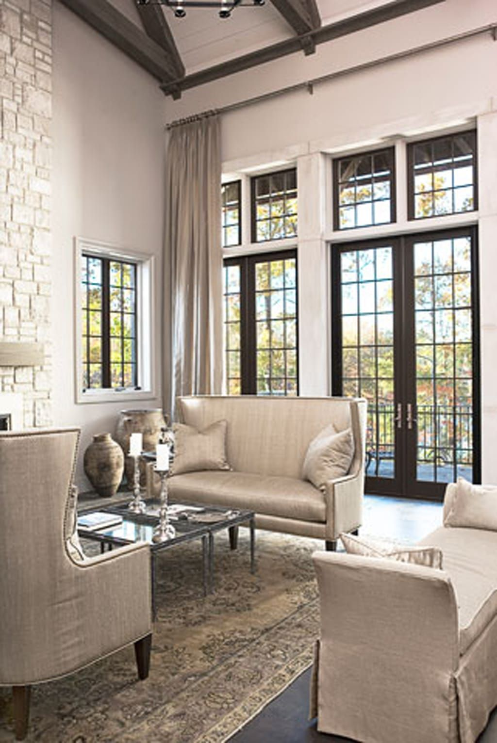 Best Anew Gray Sw 7030 Review By Laura Rugh Transitional Living Rooms House Design Chic Living Room 400 x 300