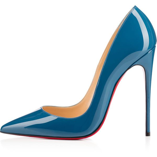 """""""So Kate's"""" pointed toe and superfine stiletto heel give her an eye-catching allure. Her dramatic pitch provides you with a supremely sexy 120mm silhouette. In…"""