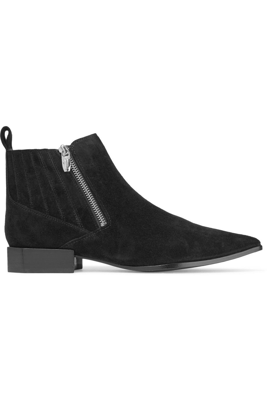 Shop on-sale Sigerson Morrison Bambie suede ankle boots.