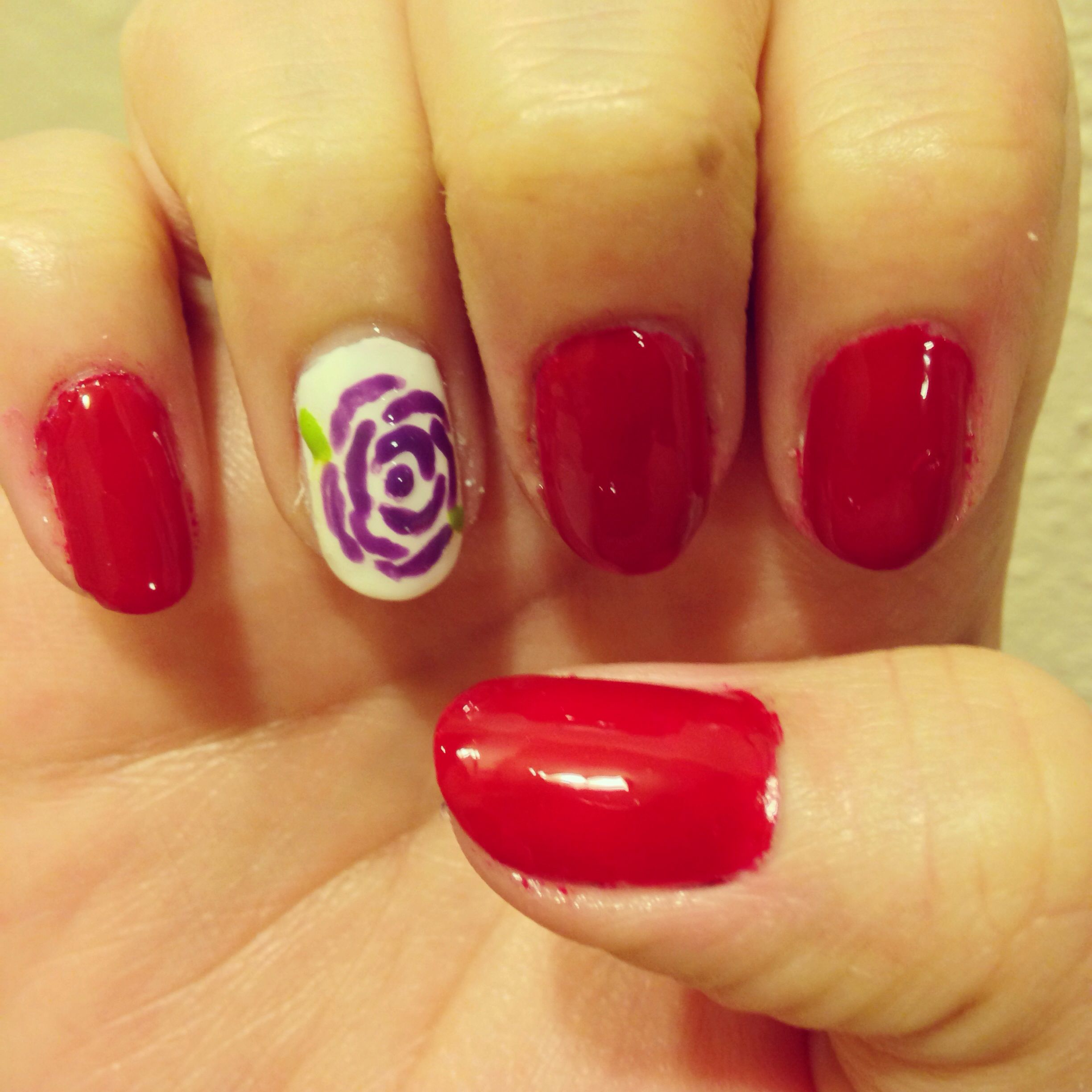 Mother\'s Day nail art May Day 8 | Stuff I\'ve Done | Pinterest