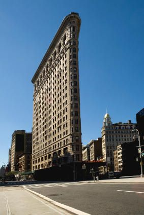 The Flatiron Building Is A Famous Landmark Of New York City It Was Completed In 1902 And One First Buildings World To Use Steel