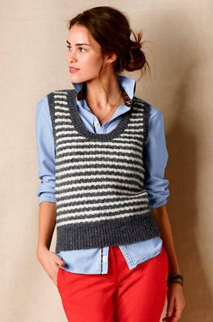 cute womens sweater vest | 2017 Blouses & Denim Skirts | Pinterest ...