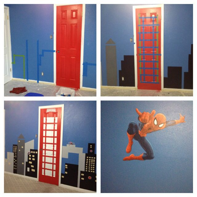 Superman Themed Bedroom: Great Theme And Colours For