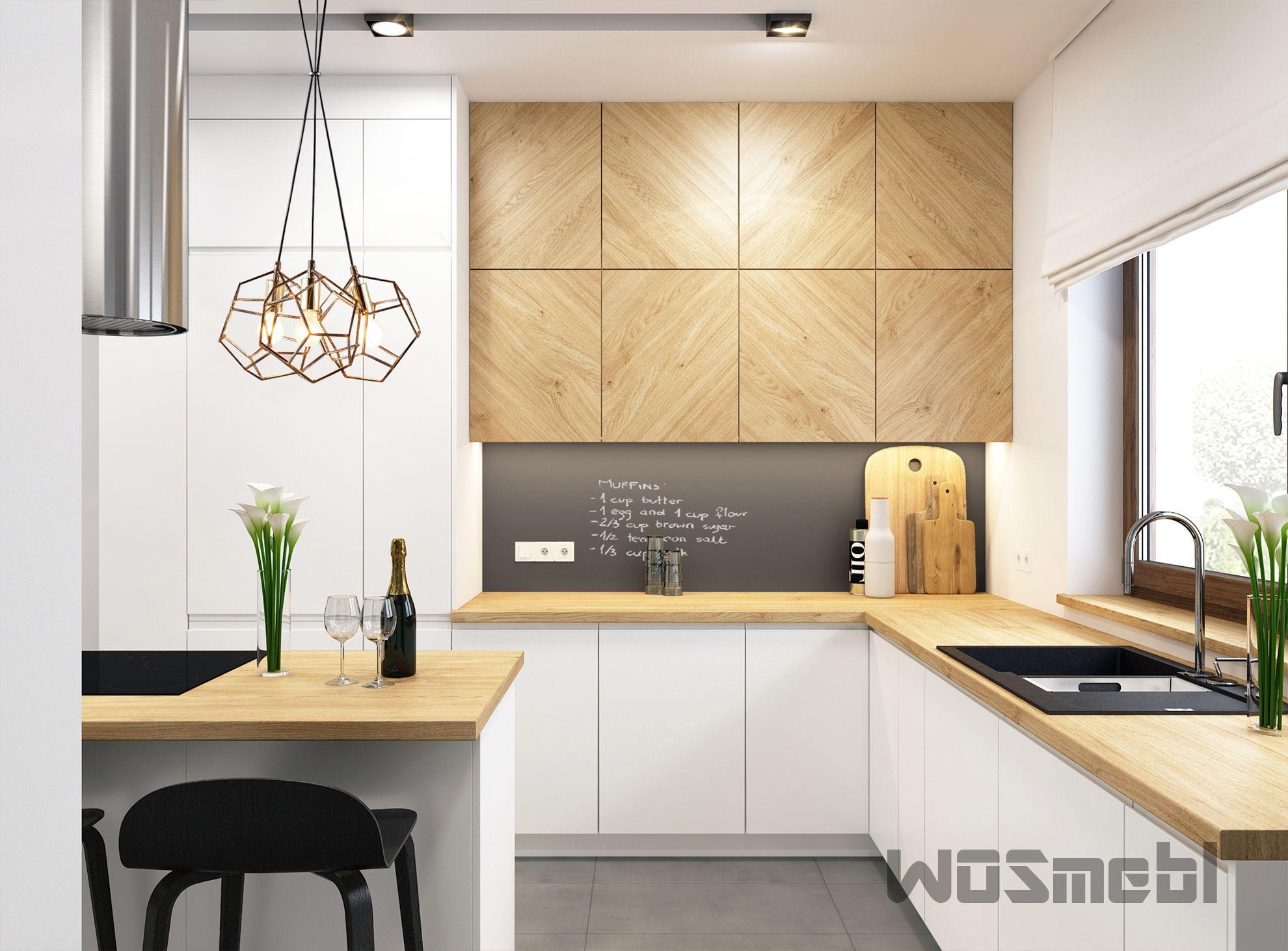 Realizacje Meble Kuchenne Na Wymiar Rzeszow Wosmebl Kitchen Design Decor Kitchen Room Design Studio Kitchen