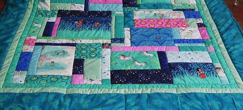 Gastgeschenke - Wee Wander Patchworkdecke - ein Designerstück von meine-bunte-flickenecke bei DaWanda