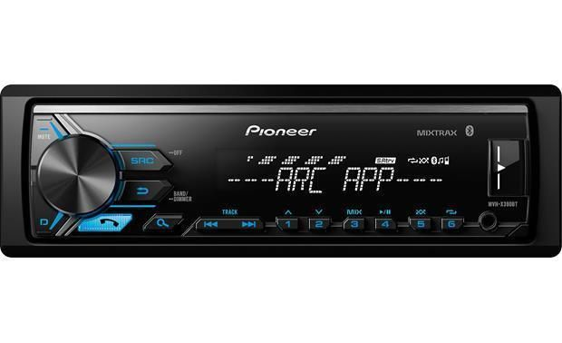 Pioneer Mvh X390bt 1 Din Bluetooth In Dash Digital Media Car
