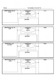 english worksheet ecosystem vocab journal huda pinterest worksheets sentences and english. Black Bedroom Furniture Sets. Home Design Ideas