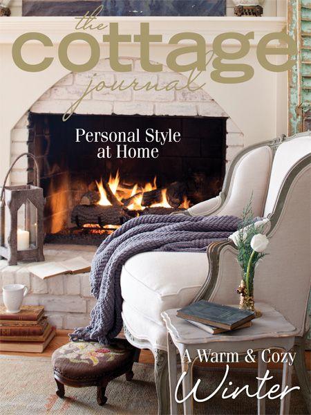 Super Beautiful Cover On Winter 2014 Cottage Journal Magazine No Download Free Architecture Designs Pushbritishbridgeorg