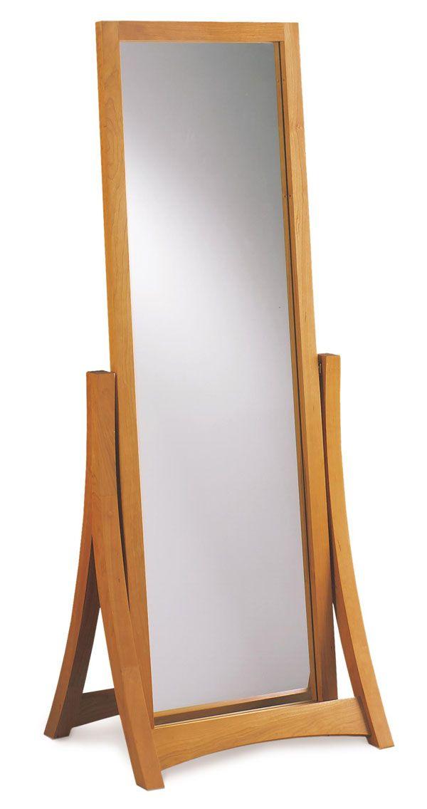 Copeland Cherry Floor Mirror | Copeland | Made in USA | Craftsman ...