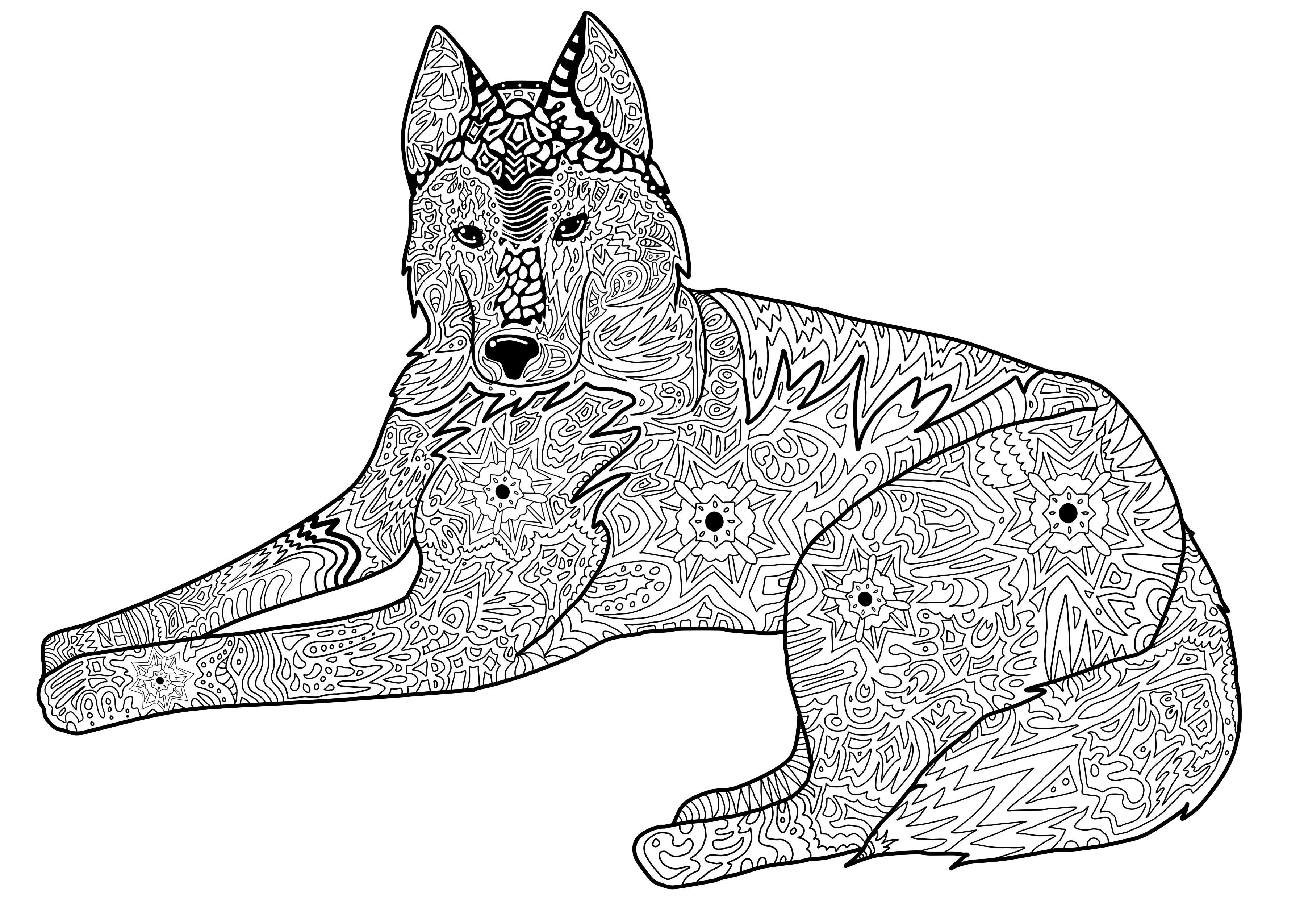ausmalbilder zum ausdrucken ausmalbilder ausmalbilder hunde