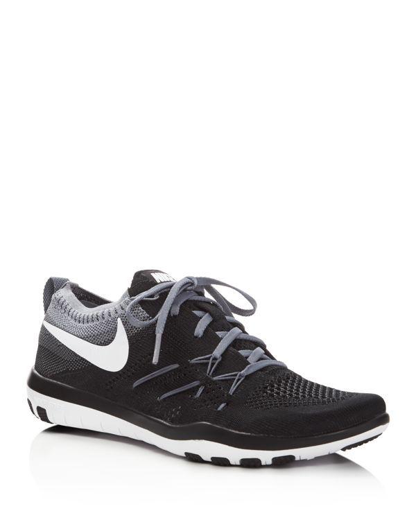 new product 3fd85 2c94d Nike Free TR Focus Flyknit Lace Up Sneakers Nike Schoenen, Schoenen  Sneakers, Veterschoenen,