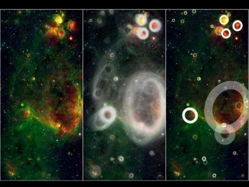 A Team Of Volunteers Has Pored Over Observations From Nasa S Spitzer Space Telescope And Discovered More Tha Milky Way Galaxy Spitzer Space Telescope Milky Way
