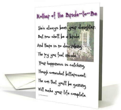 Mother of the bride to be congratulations card 470083 wedding mother of the bride to be congratulations card 470083 m4hsunfo