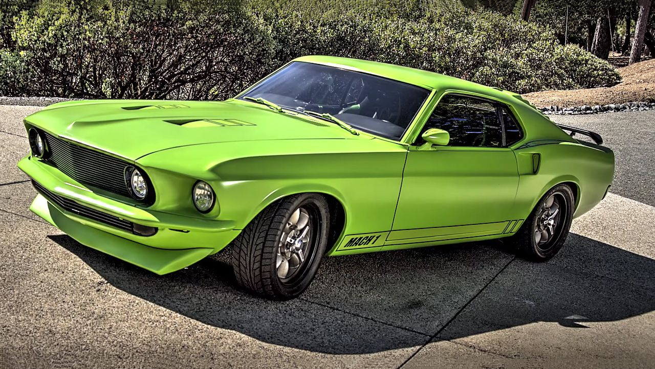 Green Stealth 1969 Ford Mustang Mach 1 More Than Pony Ford