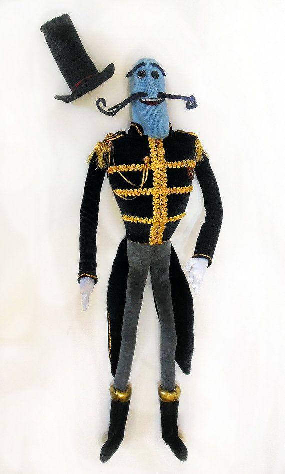 Mr. Bobinsky plush toy coraline | Coraline | Coraline ...