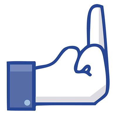 Middle Finger Emoticon For Facebook Facebook Symbols N Emoticons