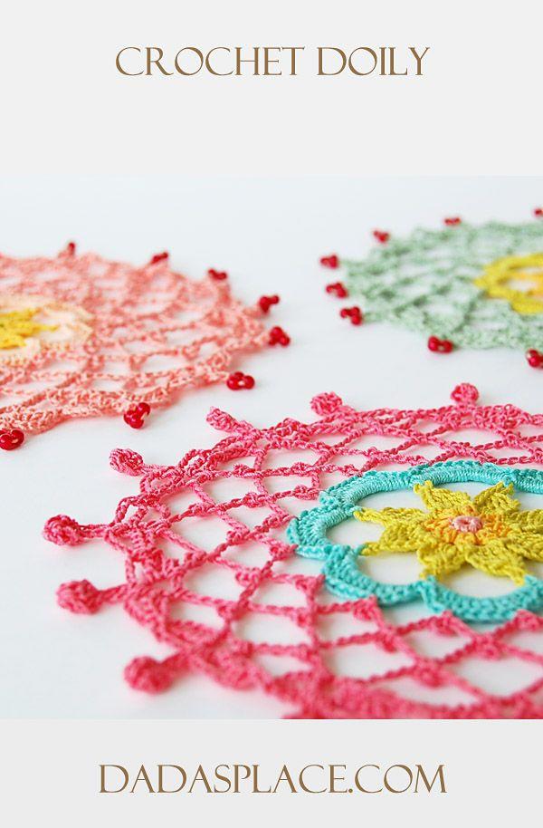 Crochet Doily by Dada's place