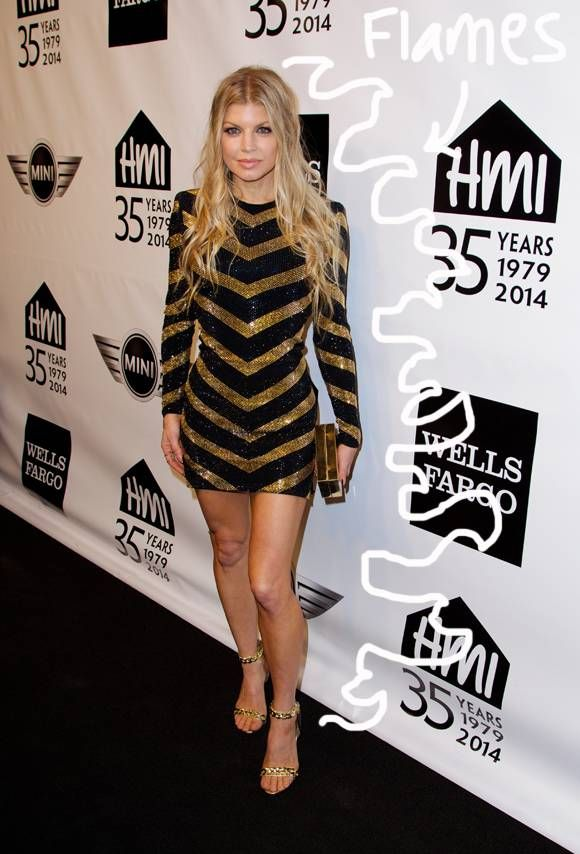 Fergie Not Pregnant—Just Fat! | E! News