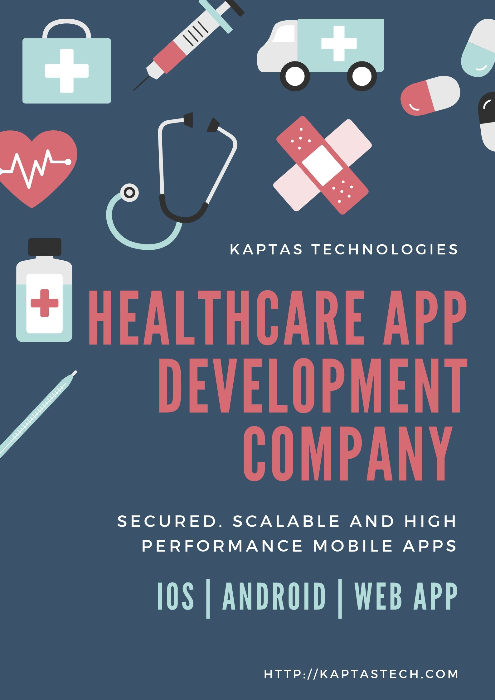 62b7b6020d KAPTAS Technologies is the renowned Healthcare Mobile App Development  Company in Coimbatore which offers flawless Mobile solutions at an  economical cost.