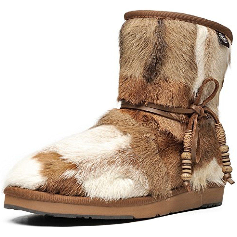 Womens winter boots fur