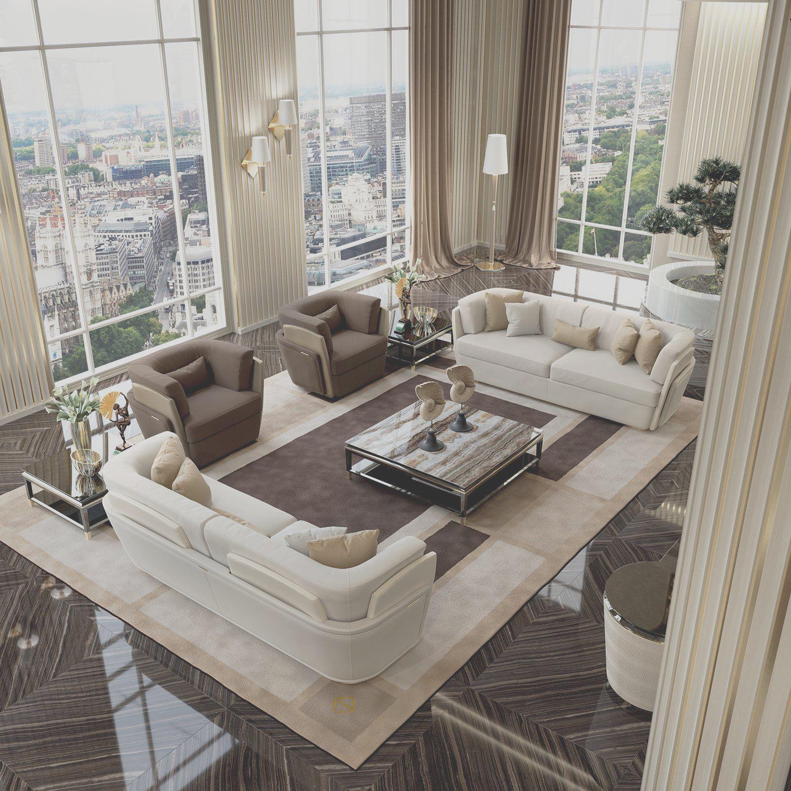 23 Non Expensive Ideas To Create Luxury Living Room Desain Ruang Tamu Mewah Ruang Makan Mewah Furnitur Mewah