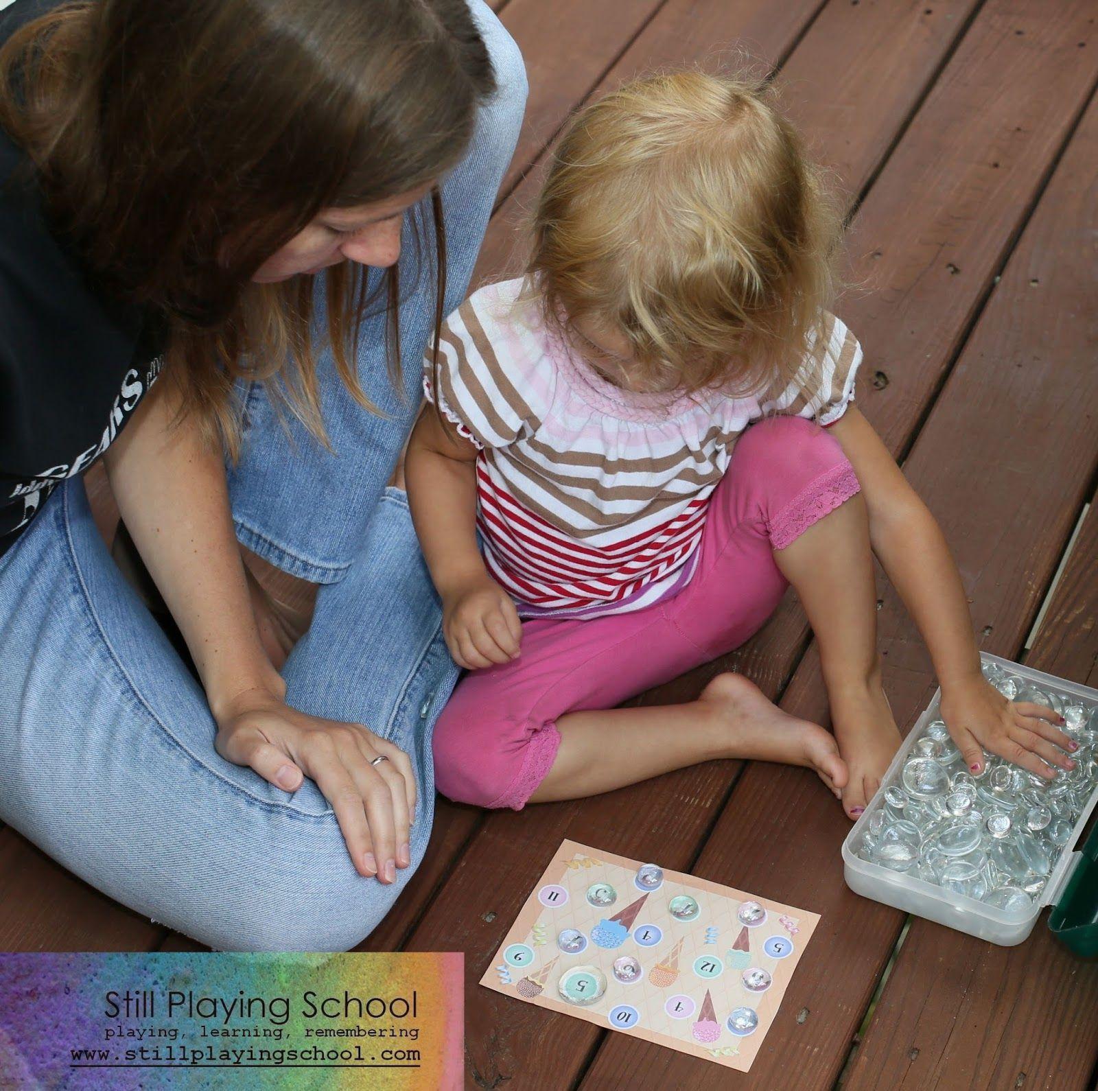 Still Playing School Home School Preschool Schedule & Ice Cream