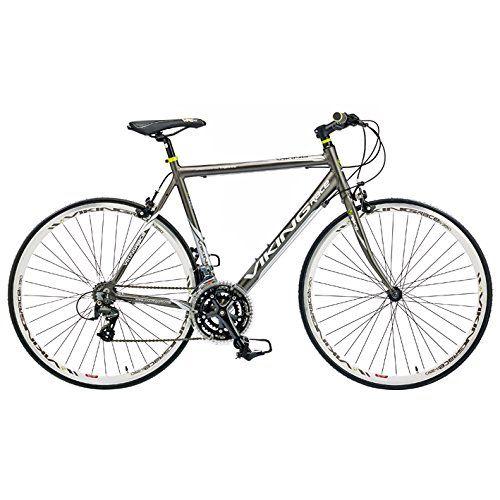 Viking Men S Trieste 700 C Flat Bar Road Bike Grey 59 Cm Price