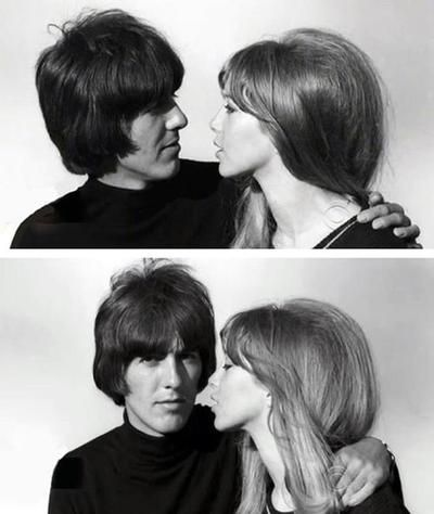 George Harrison & Pattie Boyd/ PATTIE DIDN'T DESERVE GEORGE~  WHICH SHE FOUND OUT SOON ENOUGH!