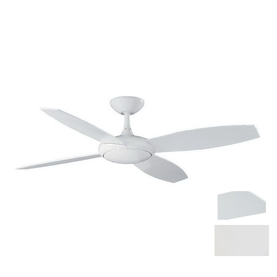 Shop kendal lighting 52 in orbit white ceiling fan with remote at shop kendal lighting 52 in orbit white ceiling fan with remote at lowes mozeypictures Image collections