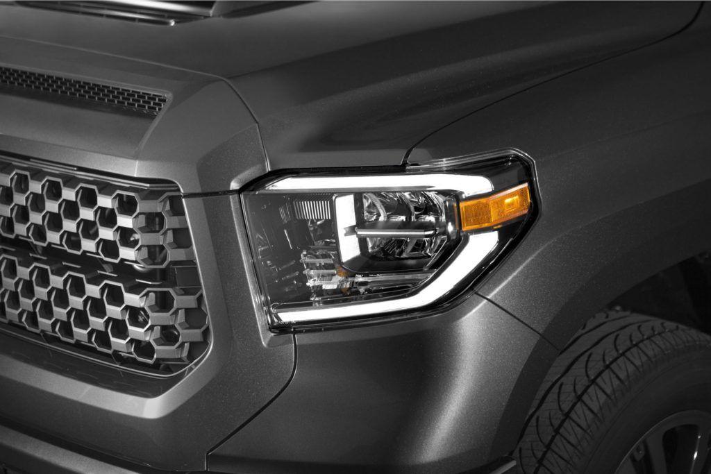 2014 2020 Toyota Tundra Oem Led Headlight Upgrade Kit Tundra Trd Toyota Tundra Toyota Tundra Trd