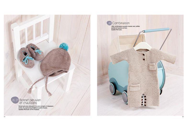 livre tricot b b et enfant catalogues layette phildar b b pinterest bebe and catalog. Black Bedroom Furniture Sets. Home Design Ideas